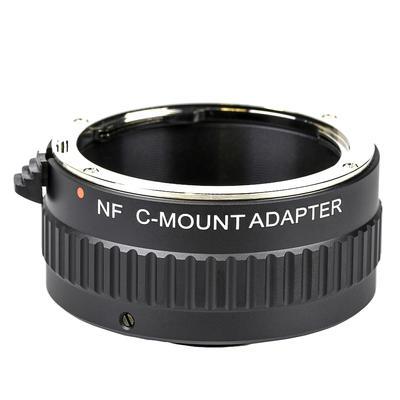 Cマウントアダプター ニコンF用画像