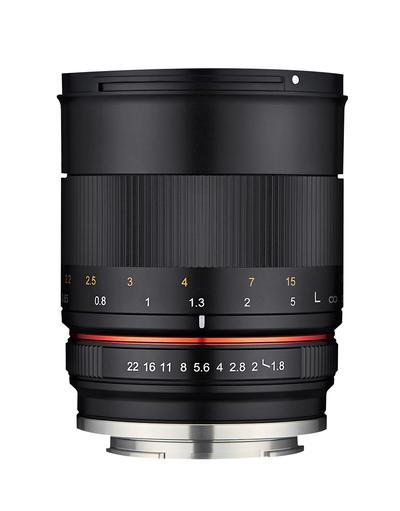 85mm F1.8 ED UMC CS画像