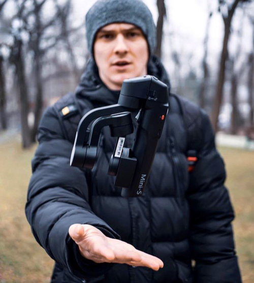 スマートフォン用ジンバル MOZA MINI-S Extendable 画像4