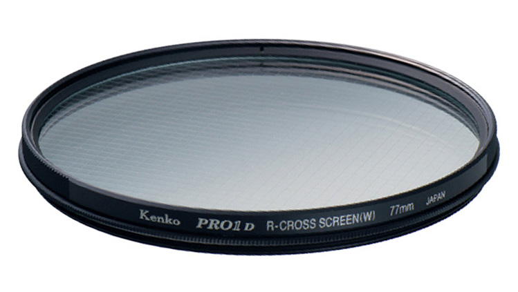 Kenko 58mm R-Partial Cross Screen Camera Lens Filters