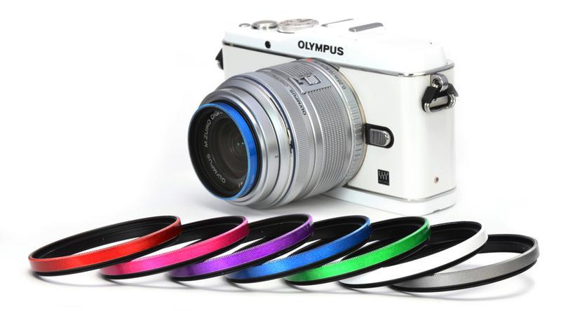 Gloss Color Frame Filter<ブルー> 画像3