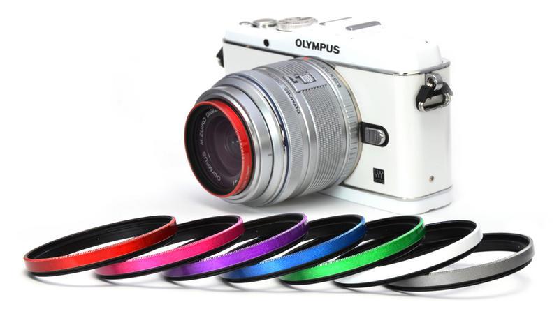 Gloss Color Frame Filter<レッド> 画像3
