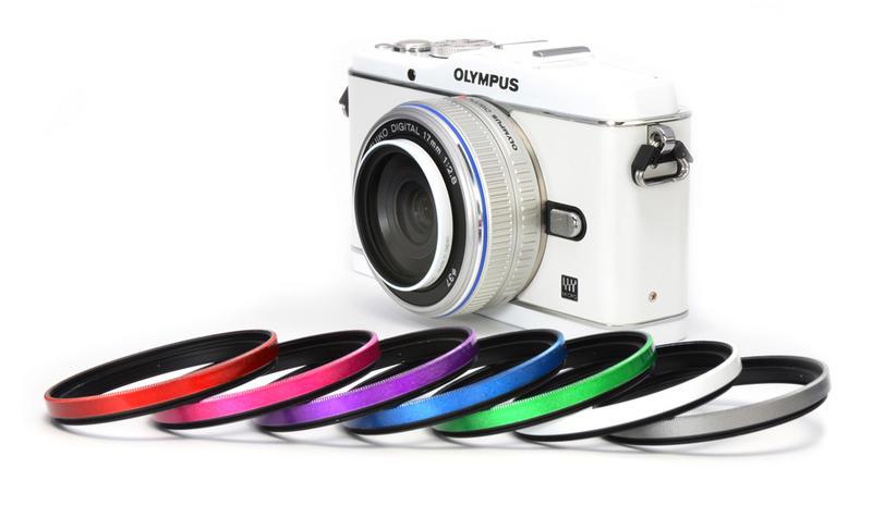 Gloss Color Frame Filter<ホワイト> 画像3
