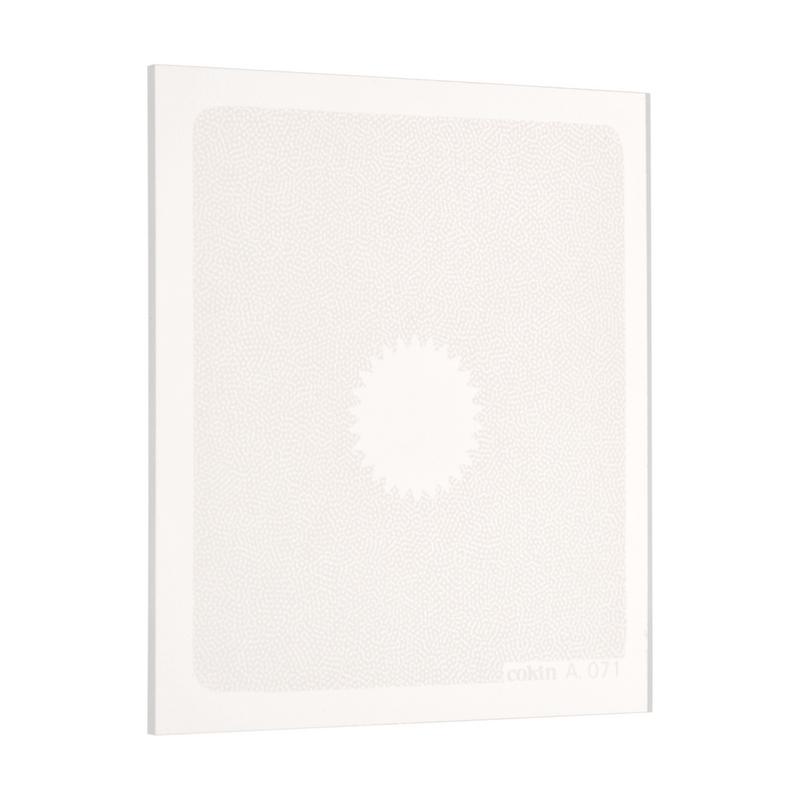 cokin 071 センタースポット ホワイト2(広角用) 画像1