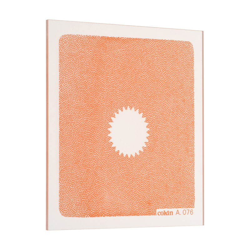 cokin 076 センタースポット オレンジ(広角用) 画像1