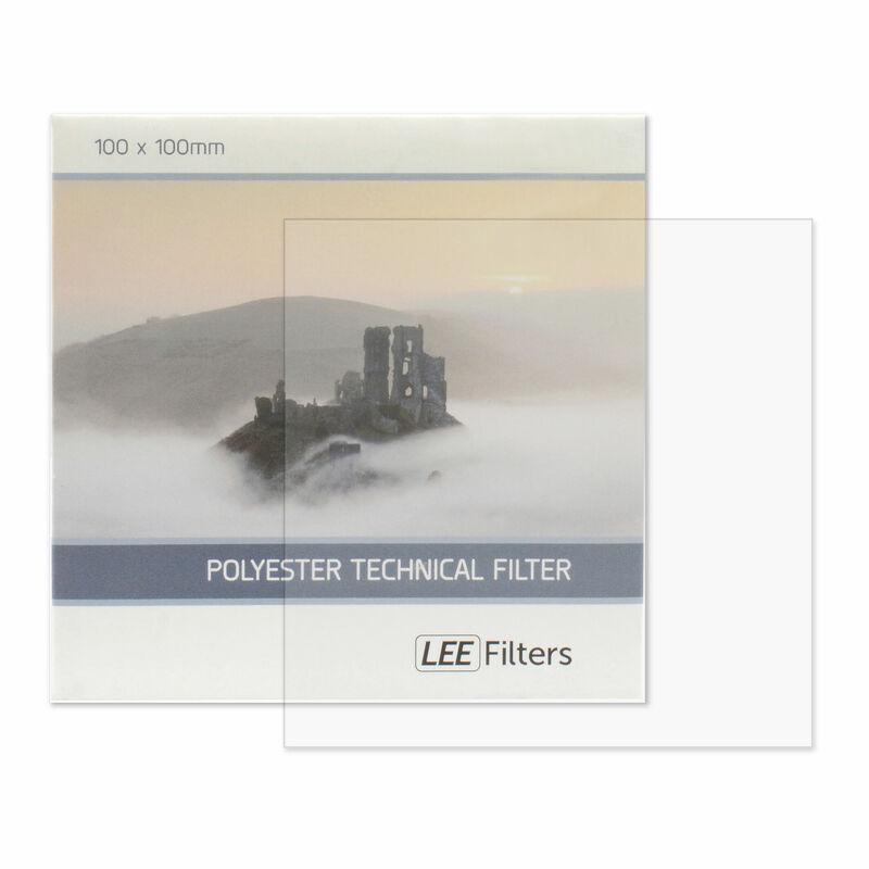 LEE 100×100mm角ポリエステルフィルター ソフト 画像1