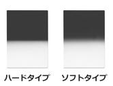 LEE100x150mm角ハーフNDフィルター