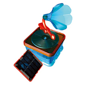 EASTCOLIGHT#28405 組み立て ソーラーミュージックボックス