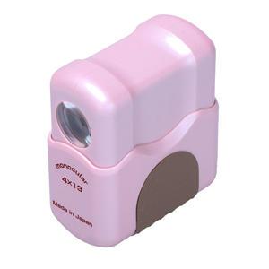 4×13 単眼鏡&ルーペ ピンク