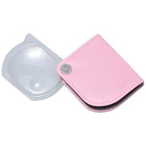 ポケットルーペ ピンク
