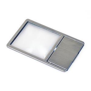 00極薄カード型拡大鏡LED付き