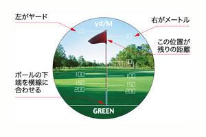 ゴルフスコープ 4×10画像01