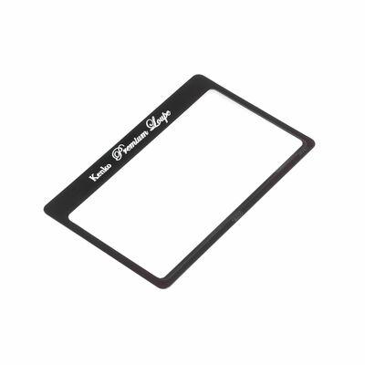 極薄シートルーペ KTL-011N 極薄カード型拡大鏡画像
