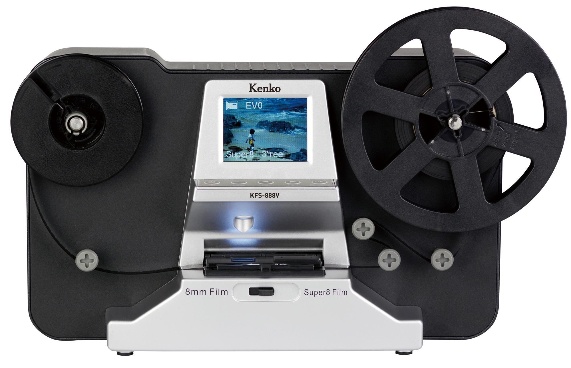 8mmフィルムコンバーター kfs 888v ケンコー トキナー