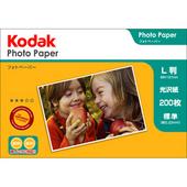 Kodak フォトペーパー 180g L判 200枚