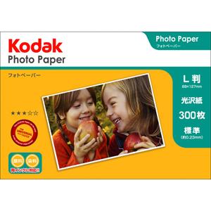 Kodak フォトペーパー 180g L判 300枚