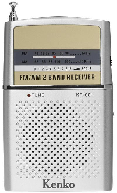 AM/FMポケットラジオ KR-001画像