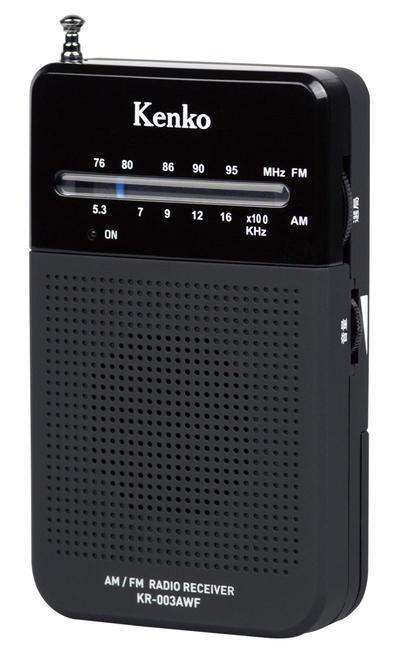AM/FMポケットラジオ KR-003AWF画像