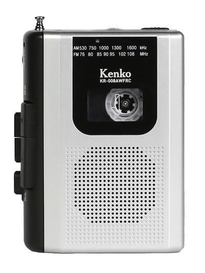 AM/FM ラジオカセットレコーダー KR-008AWFRC画像
