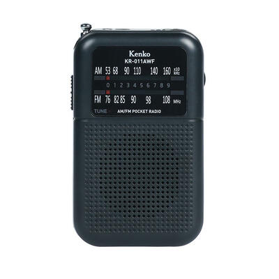 AM/FMポケットラジオ KR-011AWF画像