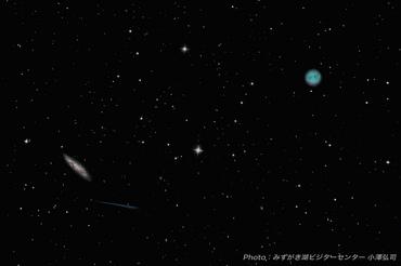 M97 ふくろう星雲 、M108 おおぐま座銀河