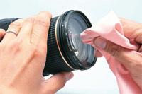 レンズの拭き方